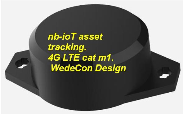 nb-iot asset tracking control udvikling